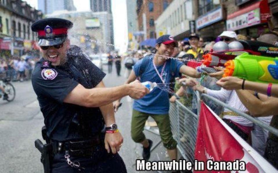 Derweil in Kanada