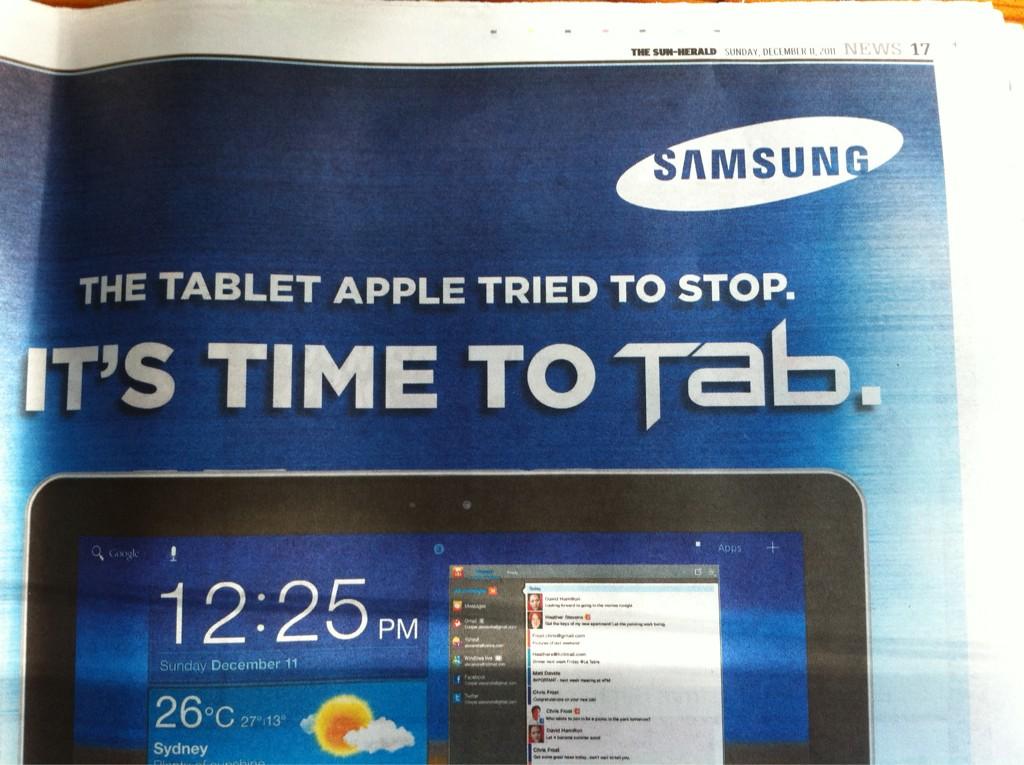 Das Tablet, was Apple versucht hat zu stoppen