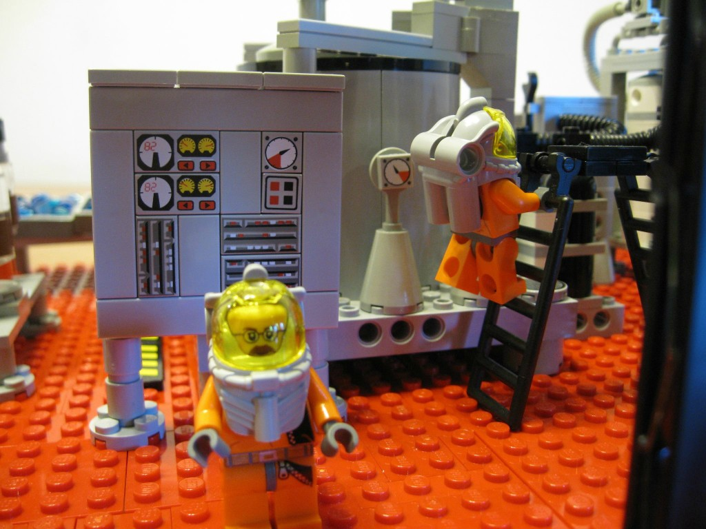 Breaking Bad Meth Lab LEGO