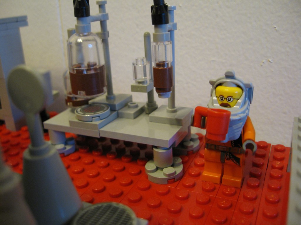 Breaking Bad Meth Lab LEGO Kaffeemaschine