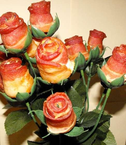 Speckrose - bacon rose