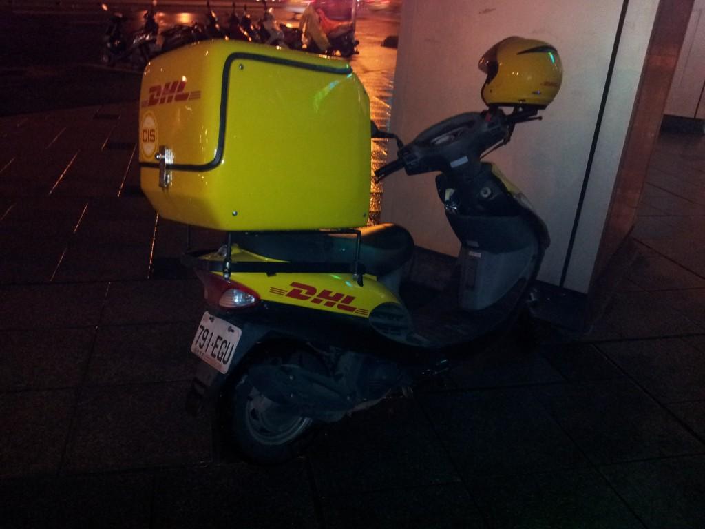 DHL Moppet in Taiwan