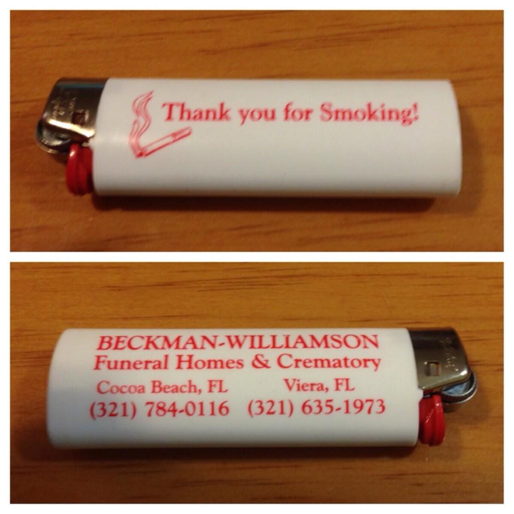 Danke für's Rauchen