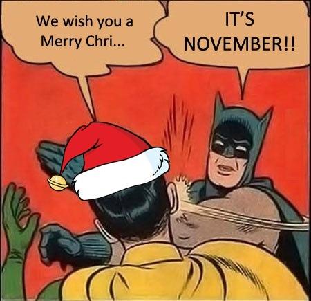 it's november