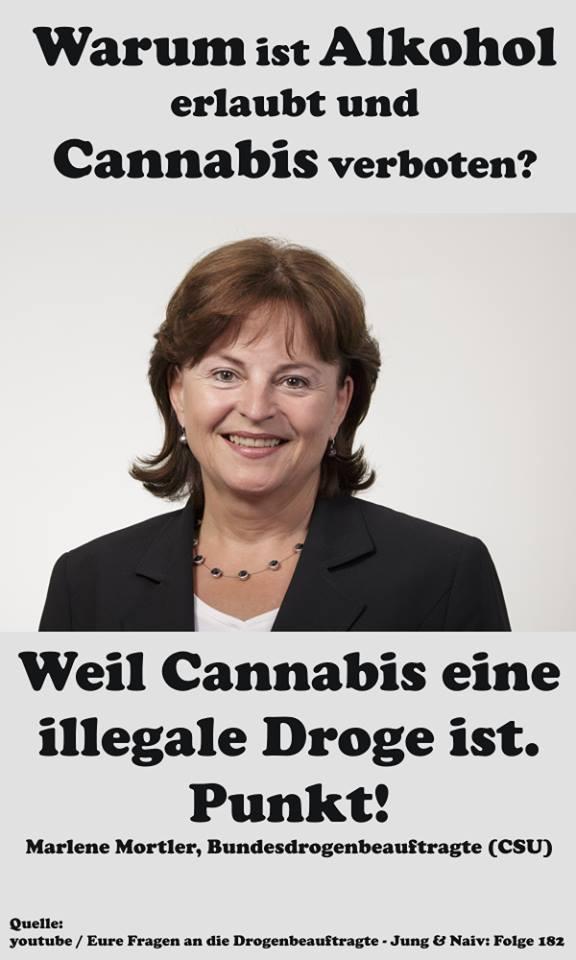 weil cannabis illegal ist